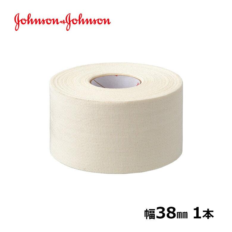 LINDSPORTS 【バラ】コーチ 50mmx13.8m 1本[固定テープ/ジョンソン&ジョンソン/J&J/テーピングテープ/非伸縮/ホワイトテープ]