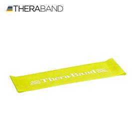 セラバンド TheraBand セラバンドループ イエロー 黄色 シン Mサイズ 円周60cm トレーニングチューブ エクササイズバンド LINDSPORTS リンドスポーツ