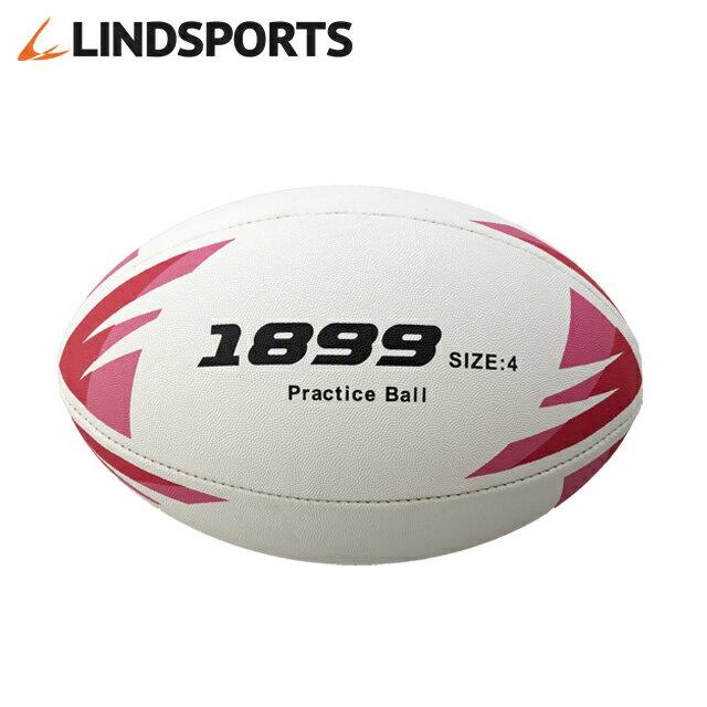 LINDSPORTS ラグビーボール [1899] 4号球 JRFU公認練習球[練習用]