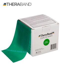 セラバンド TheraBand 合計45.7m(50ヤード) 緑 グリーン ヘビー トレーニングチューブ LINDSPORTS リンドスポーツ