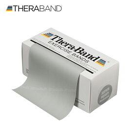 セラバンド TheraBand 合計5.5m(6ヤード) 銀 シルバー スーパーヘビー トレーニングチューブ LINDSPORTS リンドスポーツ