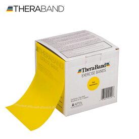 セラバンド TheraBand 合計45.7m(50ヤード) 黄色 イエロー シン トレーニングチューブ LINDSPORTS リンドスポーツ