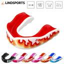 ショックディフェンス デザイン マウスピース R マウスガード LINDSPORTS リンドスポーツ