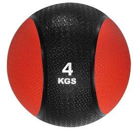 メディシンボール ひもなし 4kg トレーニングボール ウエイトボール LINDSPORTS リンドスポーツ