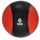 メディシンボール ひもなし 6kg トレーニングボール ウエイトボール LINDSPORTS リンドスポーツ