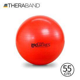 セラバンド TheraBand SCP 55cm レッド 赤 エクササイズボール バランスボール SCP55 LINDSPORTS リンドスポーツ