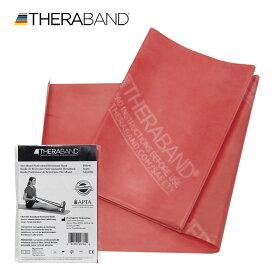 セラバンド TheraBand 1.5mカット バラ売り 赤色 レッド ミディアム トレーニングチューブ LINDSPORTS リンドスポーツ