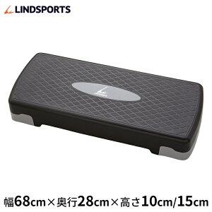 エクササイズ ステップ台 踏み台昇降 エアロビクスステップ ステッパー 昇降運動 トレーニング 筋トレ器具 LINDSPORTS リンドスポーツ