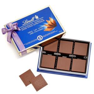 リンツLindtチョコレートスイスシンミルク125g