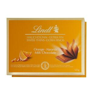 リンツ Lindt チョコレート スイスシン ミルクオレンジ 125g|リンツチョコ リンツチョコレート お菓子 チョコ ギフト 誕生日 プチギフト かわいい バレンタインデー バレンタインチョコ バレ