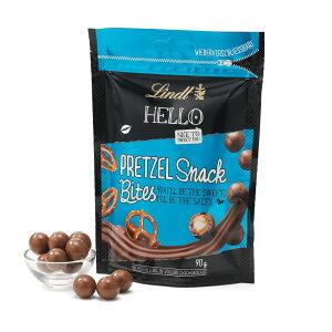 リンツLindtチョコレートHELLOプレッツェルスナックバイツ90g
