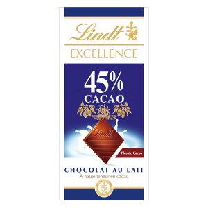 リンツ Lindt チョコレート エクセレンス 45%カカオ/ハイカカオミルク|板チョコレート チョコ ギフト かわいい おしゃれ お菓子 職場 リンツチョコ 輸入菓子 プチギフト プレゼント 可愛い