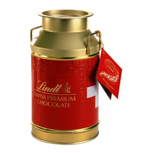 リンツ Lindt チョコレート リンドール ミルク缶【チョコレート チョコ ギフト かわいい おしゃれ お菓子 スイーツ プチギフト オシャレ プレゼント 可愛い 手土産 職場 内祝い 内祝いお返し
