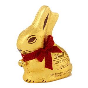 リンツ Lindt チョコレート ゴールドバニー100g【ホワイトデー チョコ ギフト リンツチョコレート おしゃれ お菓子 かわいい イースター イースターバニー バニー うさぎ ウサギ お返し ホワイ