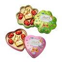 リンツ Lindt チョコレート リンツ ゴールドバニー缶 2種<グリーンクローバー/ピンクハート>【チョコ ギフト 詰め…