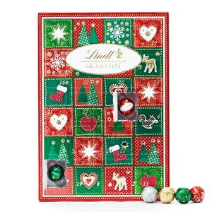 リンツ チョコレート Lindt アドベントカレンダー メリークリスマス2019【 ギフト お菓子 かわいい おしゃれ チョコ プレゼント スイーツ アドベント カレンダー 女性 カウントダウン 子供 ク