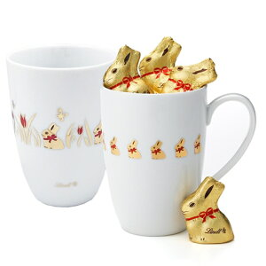 リンツ Lindt チョコレート ゴールドバニーマグ 100g 【ホワイトデー チョコ ギフト リンツチョコレート おしゃれ お菓子 かわいい イースター イースターバニー バニー うさぎ ウサギ お返し