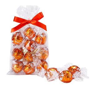 リンツ Lindt チョコレート リンドール オレンジ 10個入り |母の日 ギフト 洋菓子ギフト かわいい おしゃれ お菓子 スイーツ プチギフト オシャレ プレゼント 可愛い 手土産 内祝い 内祝いお