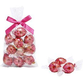 リンツ Lindt チョコレート リンドール バレンタイン 10個入り|限定 チョコ リンドール バレンタインチョコ ギフト 詰め合わせ おしゃれ かわいい バレンタインデー 会社 職場 アソート スイーツ 個包装 小分け お菓子