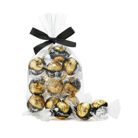 リンツ Lindt チョコレート リンドール 70%カカオ 10個入り|リンツチョコ リンツチョコレート お菓子 チョコ ギフト 誕生日 プチギフト かわいい バレンタインデー バレンタインチョコ バレンタインチョコレート 個包装 会社 職場 義理チョコ