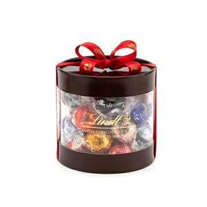 リンツ Lindt チョコレート リンドール 7種類27個入 ギフトボックス【チョコ ギフト かわいい 詰め合わせ おしゃれ お菓子 個包装 プチギフト 小分け ブランド お返し プレゼント 父の日ギフト