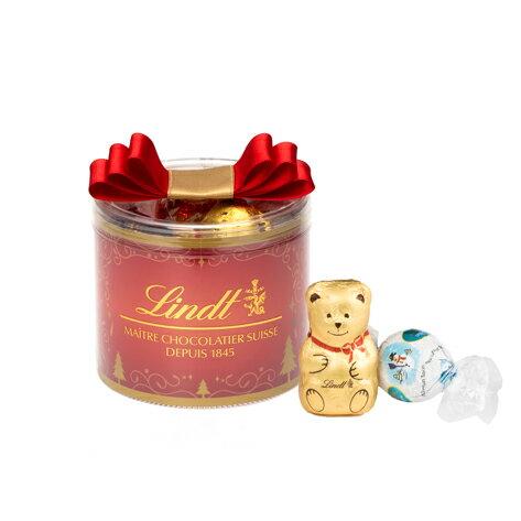 【公式】リンツ チョコレート (Lindt) クリスマス リンドールリボンギフトボックス8個入り【リンツチョコ リンツチョコレート お菓子 個包装 誕生日 スイーツ 詰め合わせ プチギフト 産休 チョコ 輸入 ギフト リンドール クリスマスプレゼント かわいい おしゃれ】