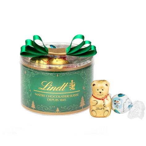 【公式】リンツ チョコレート Lindt クリスマス リンドールリボンギフトボックス16個入り【リンツチョコ リンツチョコレート お菓子 個包装 誕生日 スイーツ 詰め合わせ プチギフト 産休 チョコ 輸入 ギフト リンドール クリスマスプレゼント おしゃれ かわいい】