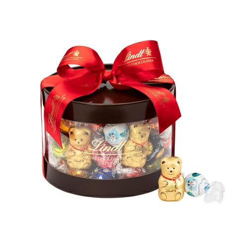 リンツ チョコレート Lindt クリスマス リンドールギフトボックス50個入り【リンツチョコ リンツチョコレート お菓子 個包装 輸入 誕生日 スイーツ 詰め合わせ プチギフト 産休 チョコ ギフト リンドール クリスマスプレゼント クリスマスギフト かわいい おしゃれ】