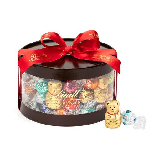 【公式】リンツチョコレート(Lindt) クリスマス リンドールギフトボックス80個入り【リンツチョコ お菓子 個包装 誕生日 スイーツ 詰め合わせ プチギフト 産休 チョコ 輸入 ギフト リンツ リンドール クリスマスプレゼント チョコレート かわいい 大人 おしゃれ】