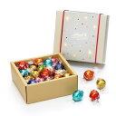リンツ チョコレート Lindt リンドールクラシックギフトボックス28個入り 【 リンドール ギフト お菓子 詰め合わせ か…