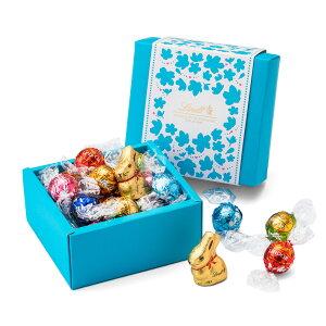 リンツチョコレートLindtホワイトデー リンドールクラシックギフトボックス 7種12個入り 【リンツ チョコレート リンドール ホワイトデー チョコ ギフト 詰め合わせ かわいい お菓子 おしゃ