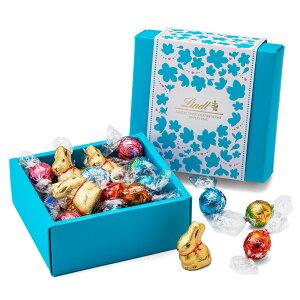 リンツ チョコレートLindt ホワイトデー リンドールクラシックギフトボックス 9種28個入り【チョコレート リンドール チョコ ギフト 詰め合わせ かわいい お菓子 おしゃれ lindt 個包装 お返し