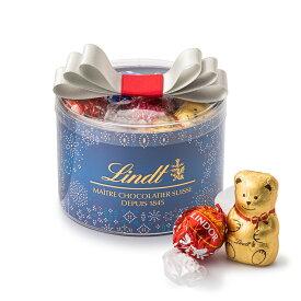リンツ Lindt チョコレート クリスマス リンドールリボンギフトボックス16個入り