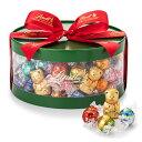リンツ Lindt チョコレート クリスマス リンドールギフトボックス100個入り