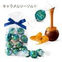 【公式】リンツ Lindt チョコレート リンドール キャラメルシーソルト10個入り【チョコ ギフト かわいい お菓子 個包…