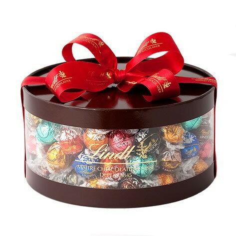 【公式】リンツ Lindt チョコレート リンドール ギフト ボックス 11種 100個入り【チョコ お菓子 詰め合わせ おしゃれ かわいい リンツチョコレート 個包装 スイーツ 輸入 プレゼント 職場 大量 リンツチョコ 内祝い 父の日 父の日ギフト 母の日 遅れてごめんね】