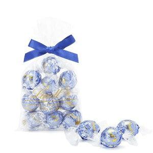 リンツ Lindt チョコレート リンドール ミルク&ホワイト 10個入り|リンツチョコ リンツチョコレート お菓子 チョコ ギフト 誕生日 プチギフト かわいい バレンタインデー バレンタインチョ