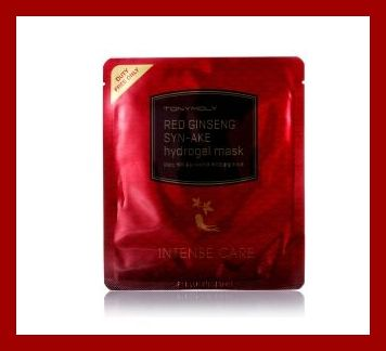 TONY MOLY トニーモリーRED GINSENG SYN AKE HYDROGEL MASK / 紅参 シンエイクゲル マスク 25g【安心】【国内発送】05P01Oct16