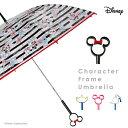 【送料無料】【Disney】キャラクターフレームアンブレラ 60cm ミッキー・ミニー・エイリアン・ドナルドダック【19581-…