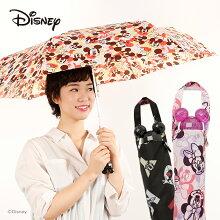 【NewColorが仲間入り!】アンブレラフェイスシリーズディズニーキャラクター折りたたみ傘50cm【Disneyzone】