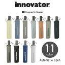 innovator(イノベーター) 自動開閉 折りたたみ傘 55cm アンブレラ ユニセックス 男女兼用【18154-71】 【RCP】【楽ギフ_包装選択】(…
