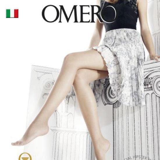 OMERO【オメロ】オールスルー/ライクラ/AESTIVA 8denSUMMER LINE Collectionオールシーズン ライクラソフトコンフォートファイバー ベーシック シアーストッキング