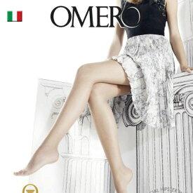 OMERO オメロ オールスルー/ライクラ/AESTIVA 8denSUMMER LINE Collectionオールシーズン ライクラソフトコンフォートファイバー ベーシック シアーストッキング