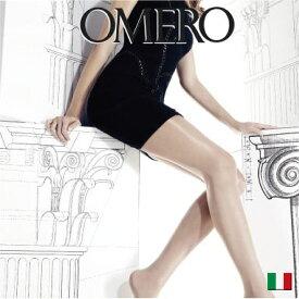 OMERO【オメロ】LUXOR 40ライクラ®ソフトコンフォートファイバーオールシーズン/綿マチ付き/フラットシーム40デニール/シアータイツベーシックストッキング