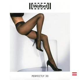 Wolford(ウォルフォード)PERFECTLY 30(パーフェクトリー30)シアータイツ30デニールインポートレッグウェア2WAYストレッチコットンマチ付きつま先スルータイプ
