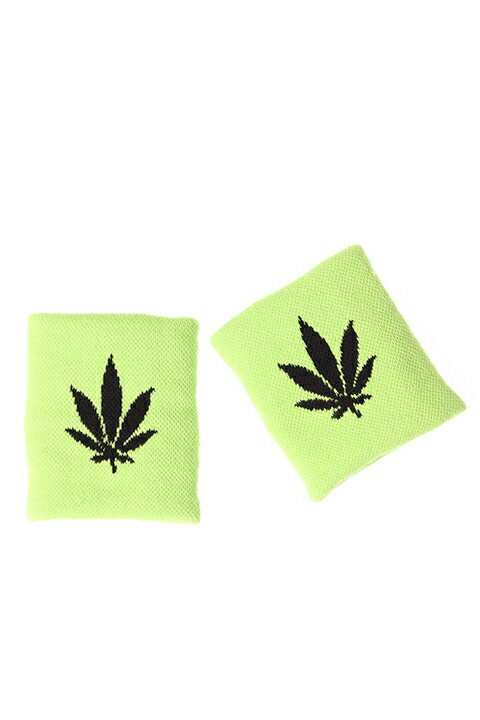 【30%OFFセール|5,400円→3,780円】 Palm Angels パームエンジェルス WEED WRISTBANDS{PMOA001S7195049-4110-AGS}