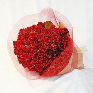 産地厳選バラ花束・赤バラ31本 (※あわせ買いで32本から108本まで本数指定が可能です)