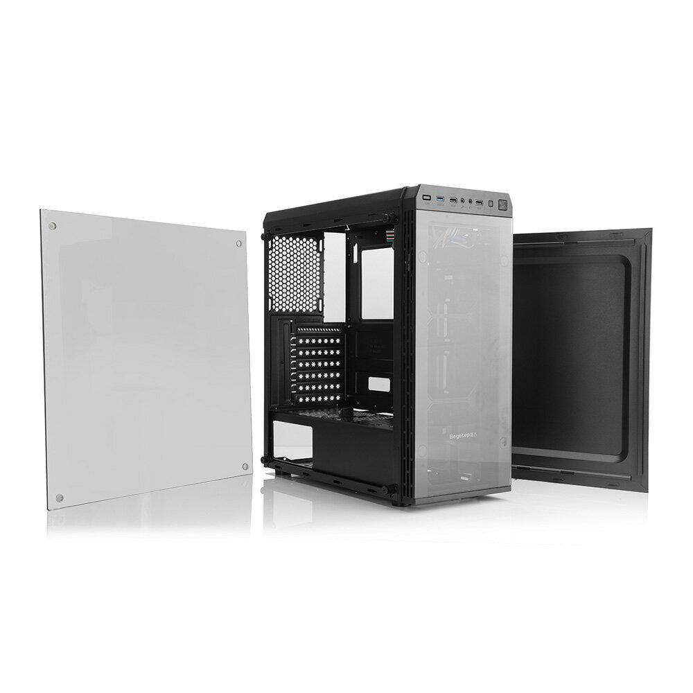 Segotep 2枚の強化ガラスを採用したATX対応PCケース Hyperion-T