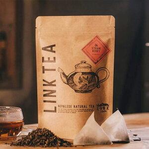 linktea ストロベリーティー ティーバッグ 15個入 いちご 高品質 ネパール紅茶