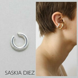 【SASKIA DIEZ サスキア ディツ】SILVER BOLD EAR CUFF NO2 イヤーカフ シルバー